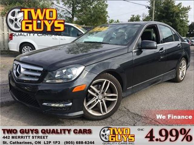 2013 MERCEDES-BENZ C-CLASS 250 Sport Sedan   Sunroof   Htd Leather   Alloys in St Catharines, Ontario