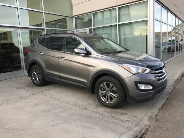 2013 HYUNDAI Santa Fe AWD/HEATED SEATS/HEATED WHEEL/BLUETOOTH/PARK ASSIST in Edmonton, Alberta