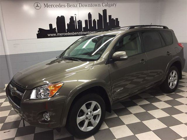 2012 TOYOTA RAV4 Limited w/ Leather & Navigation+ in Calgary, Alberta