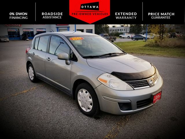 2007 nissan versa 4dr sdn i4 auto 1 8 s ottawa ontario car for sale 2848357. Black Bedroom Furniture Sets. Home Design Ideas