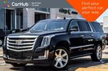 2016 Cadillac Escalade ESV Premium Collection 4x4 DrvrAsstPkg RearDVD's Seat6 22Alloys  in Thornhill, Ontario