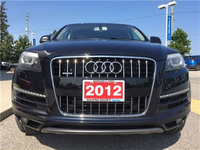 2012 AUDI Q7 3.0 Premium Plus - 5 SEATER, NAVI, HEATED SEATS in Scarborough, Ontario