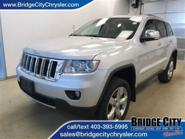 2011 JEEP GRAND CHEROKEE Overland in Lethbridge, Alberta