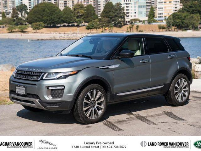 2016 LAND ROVER RANGE ROVER EVOQUE HSE (2016.5) in Vancouver, British Columbia