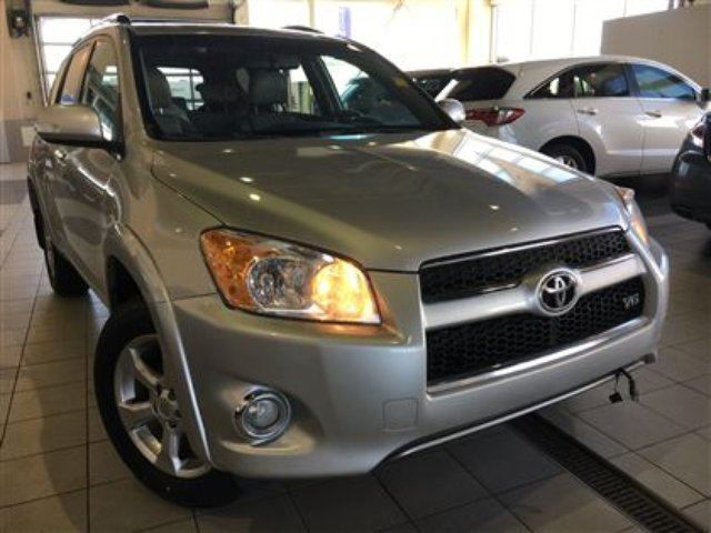 2010 TOYOTA RAV4 Limited 4x4 Moonroof Roof rack in Red Deer, Alberta