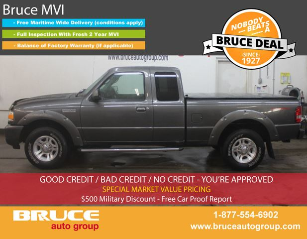 2009 FORD RANGER SPORT 4.0L 6 CYL AUTOMATIC RWD SUPERCAB in Middleton, Nova Scotia