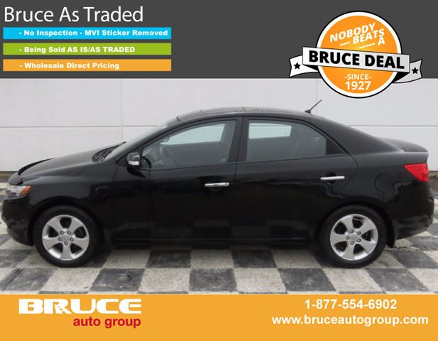 2010 KIA FORTE EX 2.0L 4 CYL AUTOMATIC FWD 4D SEDAN in Middleton, Nova Scotia