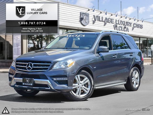 2012 MERCEDES-BENZ M-CLASS NEW CAR TRADE IN | NAVIGATION | REAR CAM | PREMIUM PKG in Markham, Ontario