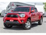 2014 Toyota Tacoma TRD SPORT   4X4   DOUBLE CAB   CLEAN CARPROOF in Mississauga, Ontario