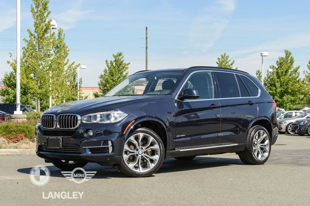 2015 BMW X5 Premium Package AND Luxury Line! in Langley, British Columbia