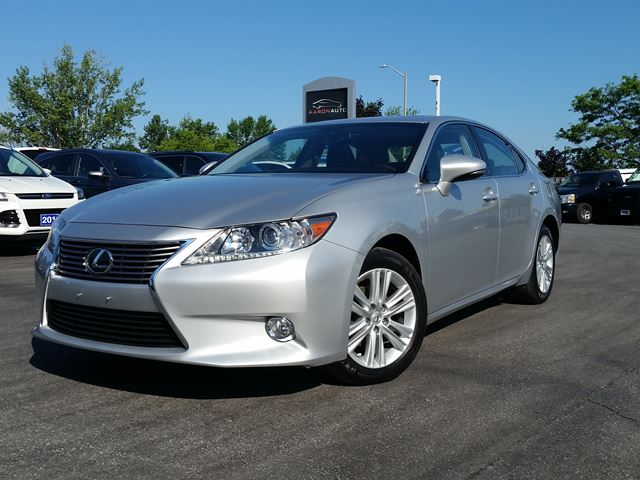 2013 LEXUS ES 350 LEATHER-HEATED SEATS AND WHEEL in Belleville, Ontario