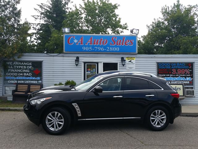 2010 INFINITI FX35 FINANCE FOR $149 BI WEEKLY FOR 60 MONTHS $1000 DOWN OAC! in Brampton, Ontario