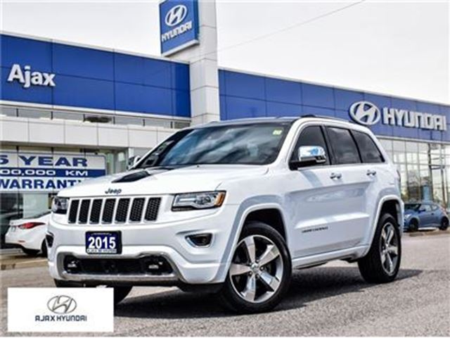 2015 JEEP GRAND CHEROKEE *Overland Diesel Navi Sunroof in Ajax, Ontario