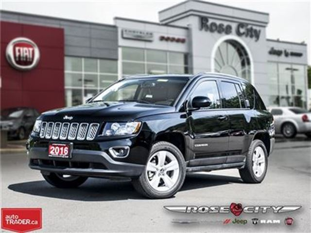 2016 JEEP COMPASS High Altitude~4x4~Leather in Welland, Ontario