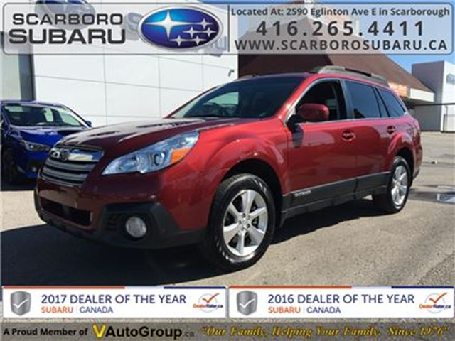 2013 SUBARU OUTBACK 3.6R LTD PKG, FROM 1.9% FINANCING AVAILABLE in Scarborough, Ontario