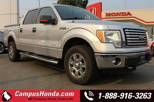 2011 FORD F-150 XLT XTR 4WD SuperCrew in Victoria, British Columbia