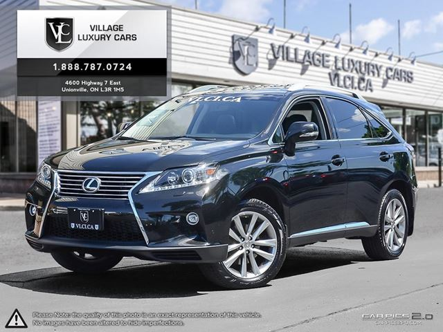 2015 LEXUS RX 350 Sportdesign BALANCE OF FACTORY WARRANTY | NAVIGATION | BLIND SPOT ASSIST | HEATED STEERING WHEEL in Markham, Ontario
