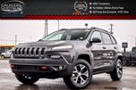 2018 Jeep Cherokee New Car Trailhawk 4x4 Navi Pano Sunroof Safetytec Adaptive Cruise Control w/Stop Go 17Alloy in Bolton, Ontario