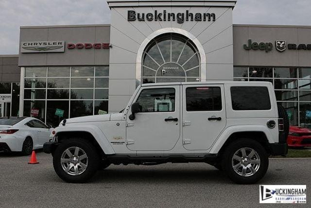 2014 JEEP WRANGLER Unlimited Sahara in Gatineau, Quebec