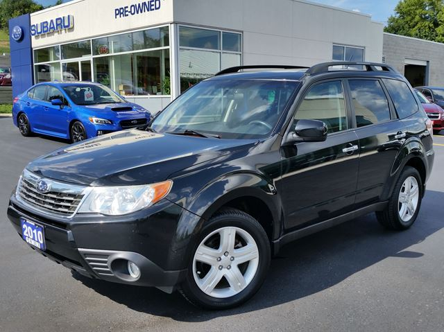 2010 SUBARU FORESTER Limited in Kitchener, Ontario