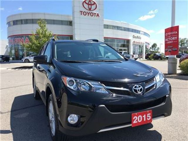 2015 Toyota RAV4 Limited - Toyota Certified Local Vehicle! in Stouffville, Ontario