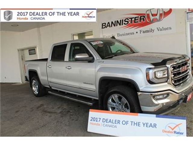 2016 GMC SIERRA 1500 SLT Crew Cab Short Box 4WD in Vernon, British Columbia