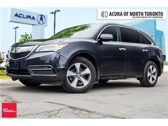 2016 ACURA MDX at Power Sunroof Remote Starting Heated Steering W in Thornhill, Ontario