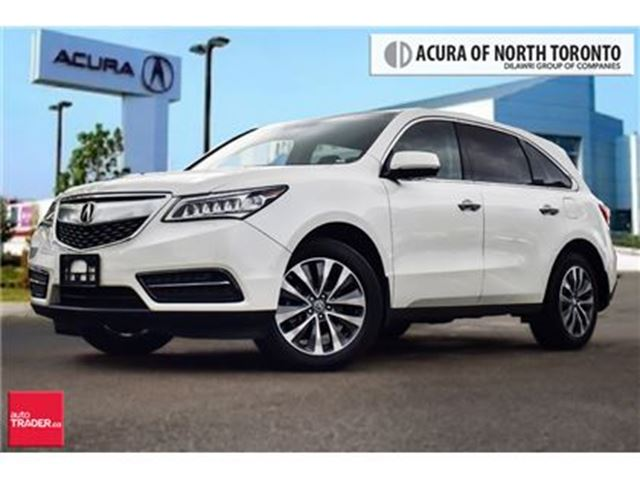 2014 ACURA MDX Navigation at in Thornhill, Ontario