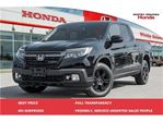 2017 Honda Ridgeline Black Edition in Whitby, Ontario