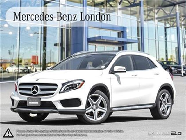 2015 MERCEDES-BENZ GLA250 4MATIC SUV Rates from 0.9% in London, Ontario