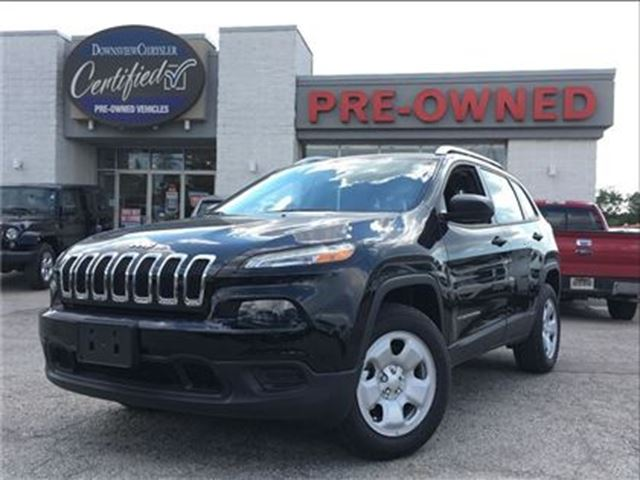 2017 JEEP Cherokee Sport..$186 b/w+hst..$0 down..96m..4.9% in Toronto, Ontario