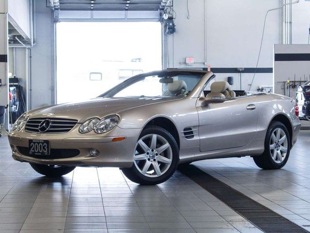 2003 MERCEDES-BENZ SL-CLASS SL500 in Kelowna, British Columbia