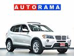2011 BMW X3 NAVIGATION BACKUP CAM LEATHER PAN SUNROOF 4WD in North York, Ontario