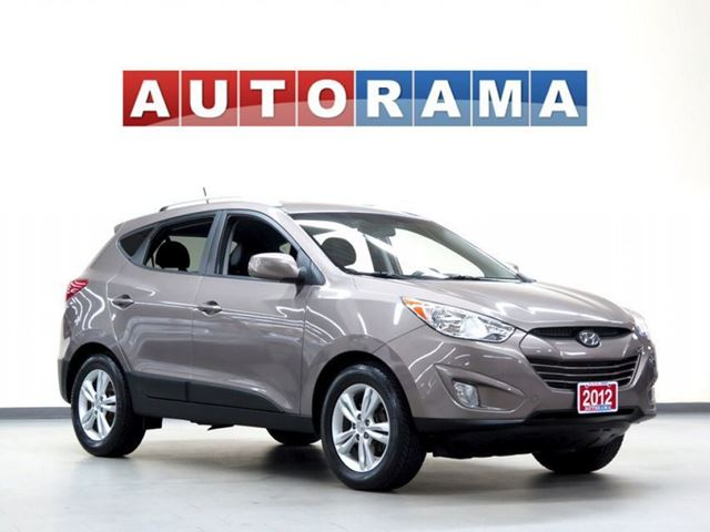 2012 Hyundai Tucson LIMITED LEATHER PAN SUNROOF 4WD in North York, Ontario