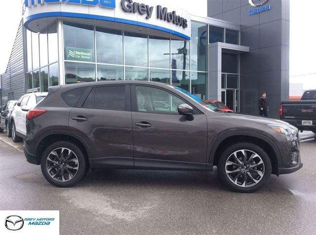 2016 Mazda CX-5 GT, Navigation, Heated Leather, One owner! in Owen Sound, Ontario
