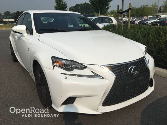 2015 LEXUS IS 350 4dr Sdn F-Sport in Vancouver, British Columbia