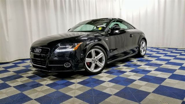 2013 AUDI TT S line Competition AWD/LEATHER/HTD SEATS/ONE OW in Winnipeg, Manitoba