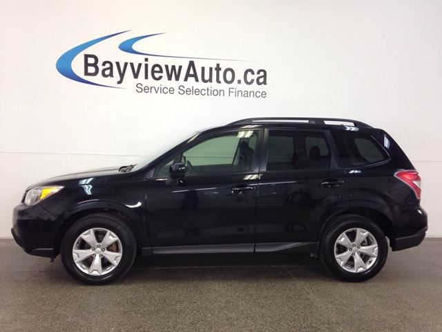 2015 SUBARU FORESTER CONVENIENCE- AWD! HEATED SEATS! BLUETOOTH! CRUISE! in Belleville, Ontario