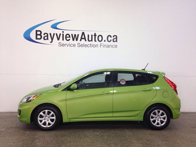 2014 HYUNDAI ACCENT - 6 SPEED! GDI! HEATED SEATS! A/C! BLUETOOTH! in Belleville, Ontario