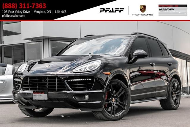 2013 PORSCHE CAYENNE Turbo w/ Tip in Woodbridge, Ontario