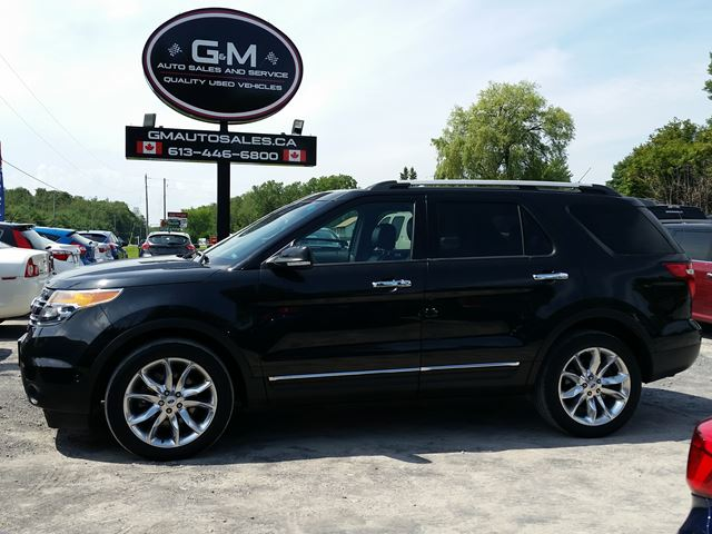 2014 Ford Explorer Limited in Rockland, Ontario