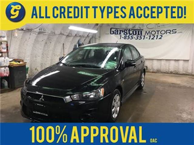 2016 MITSUBISHI LANCER SE LTD*CVT*PHONE CONNECT*TRACTION CONTROL*HEATED S in Cambridge, Ontario