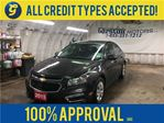 2015 Chevrolet Cruze LT*BACK UP CAMERA*MY LINK*KEYLESS ENTRY*CLIMATE CO in Cambridge, Ontario