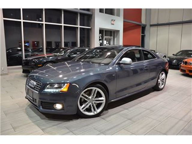2009 AUDI S5 4.2L V8 6-Speed Manual With Only 99.063 Kms! in Oakville, Ontario