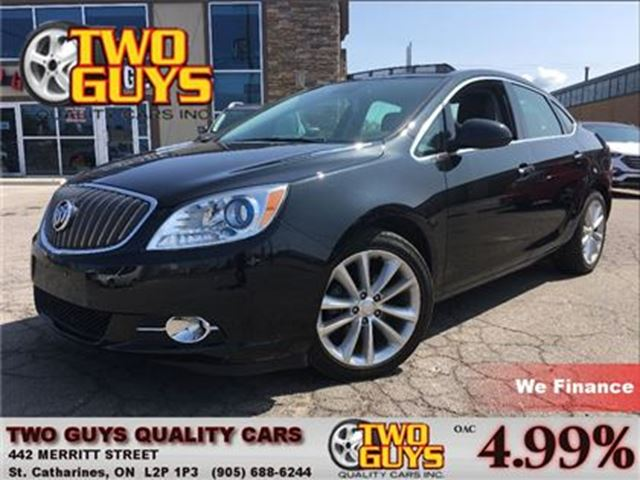 2013 BUICK VERANO PREMIUM   TURBO 2.0   NAV   SUNROOF   LEATHER in St Catharines, Ontario