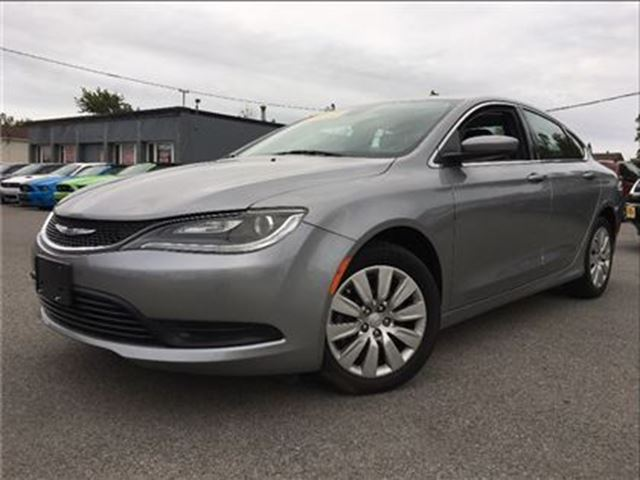 2015 CHRYSLER 200 LX  LOOK AT THE MILEAGE!   BLUETOOTH in St Catharines, Ontario