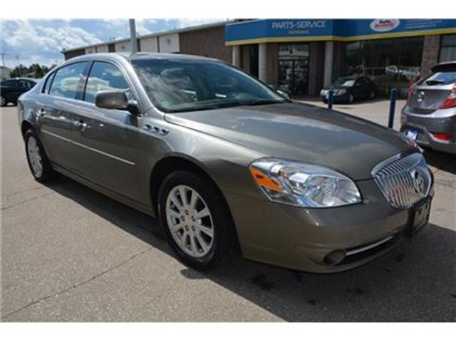 2010 BUICK LUCERNE CX-2/CRUISE/FOG LIGHTS/CD PLAYER in Milton, Ontario