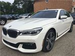 2016 BMW 7 Series 750 XDRIVE**PRICED TO MOVE**M SPORT**CAR PROOF CLEAN* in Mississauga, Ontario