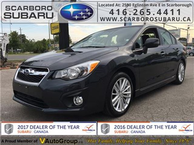 2014 SUBARU IMPREZA 2.0i LTD PKG, FROM 1.9% FINANCING AVAILABLE in Scarborough, Ontario