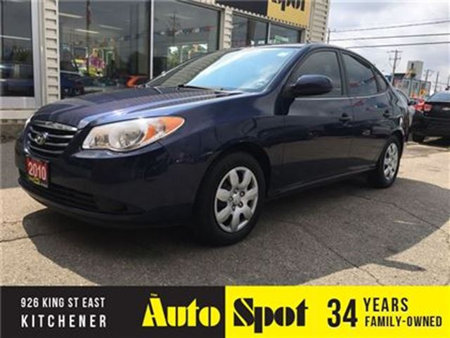 2010 HYUNDAI ELANTRA GL/LOW, LOW KMS!/PRICED FOR A QUICK SALE! in Kitchener, Ontario
